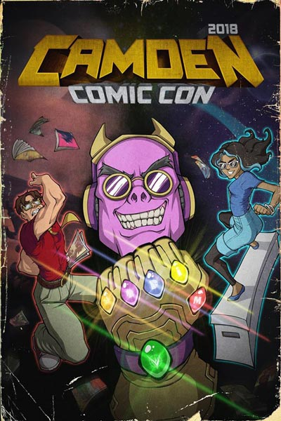 Celebrate Geekdom at Camden Comic Con