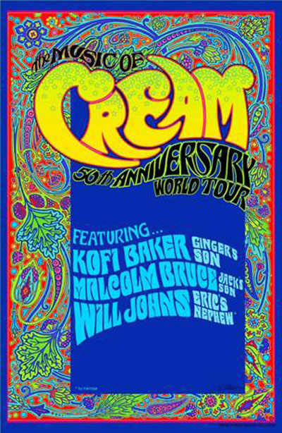 50 Years of Cream Comes to Count Basie Theatre