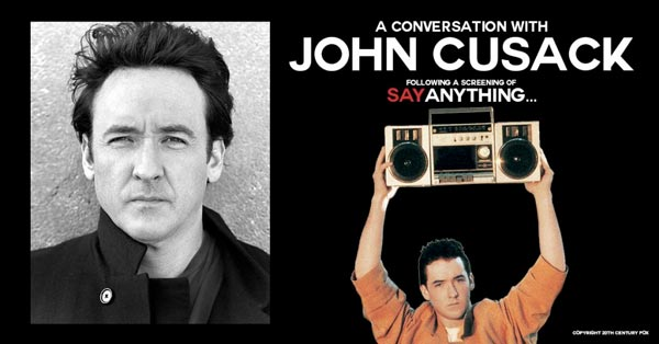 "Count Basie Center For The Arts Hosts A Conversation With John Cusack & Screening of ""Say Anything"""