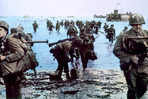 Inside D-Day At The Ocean County Library