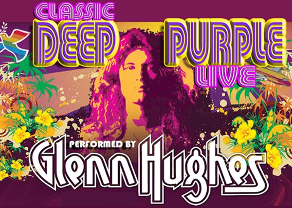Glenn Hughes To Bring The Classic Hits of Deep Purple To The Stone Pony
