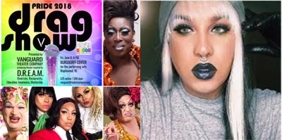 """Vanguard Theater Company and North Jersey Pride Present """"Fierce Feminists: A Pride Drag Show"""""""