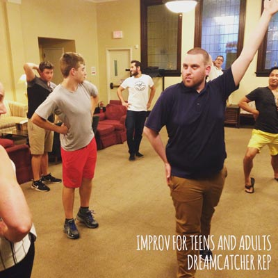 Dreamcatcher To Hold Winter Improv Intro and Class for Adults and Teens