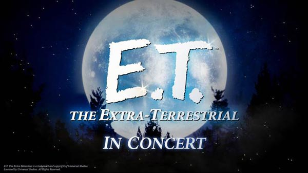 E.T. The Extra-Terrestrial in Concert coming to New Jersey with the NJSO