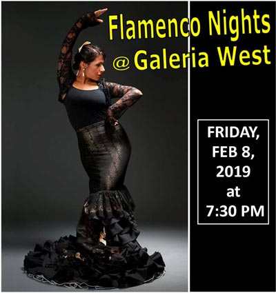 TEATRO Si Presents Flamenco Nights at Galeria West On February 8th