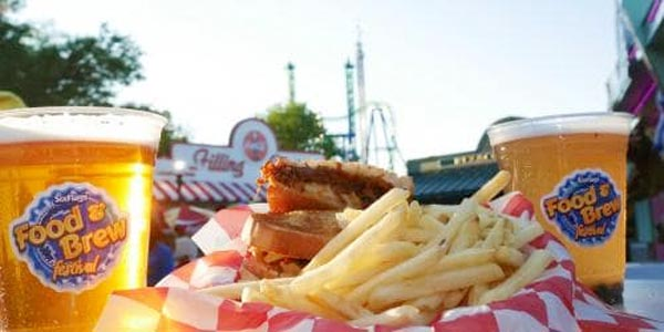First Annual Six Flags Food & Brew Festival