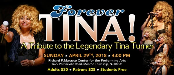 """Forever Tina!"" A Tribute To Tina Turner In Monroe Twp"