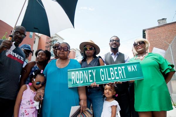 Newark Names Street In Honor Of Local Artist Rodney M. Gilbert