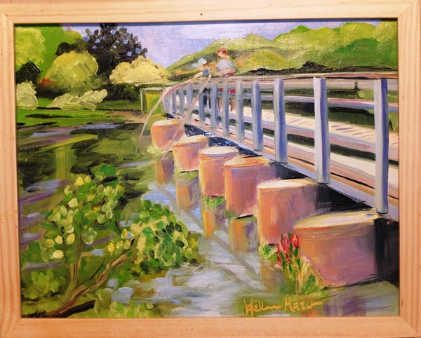 Plein-Air Painters of Princeton, with Heather Barros, on view  at D&R Greenway