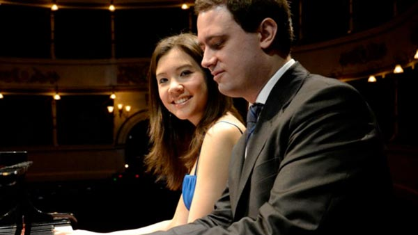 Grunin Center Presents Stephanie Trick and Paolo Alderighi