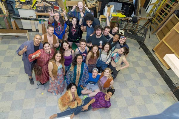 "Pioneer Productions Presents ""Hair"""