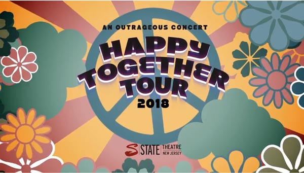 State Theatre New Jersey presents Happy Together Tour 2018
