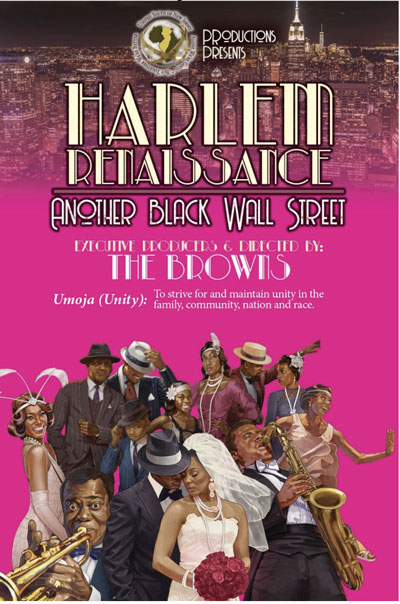 """United Youth of New Jersey To Present """"Harlem Renaissance: Another Black Wall Street"""""""