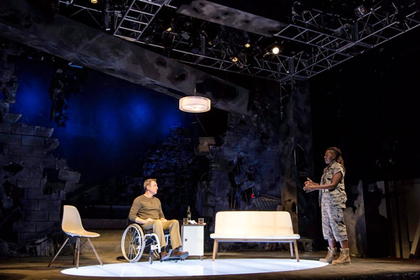 """PHOTOS from """"American Hero"""" at George Street"""