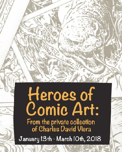 """Heroes of Comic Art"" At The Arts Council of Princeton"