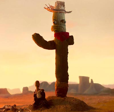 Christopher Allan Thomas's animated short film Hi Five The Cactus Premieres at the Fall 2018 New Jersey Film Festival this Sunday, September 16!