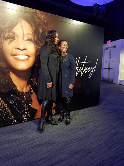 Whitney Houston Exhibit Opens at The GRAMMY Museum Experience Prudential Center