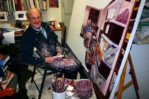 Artist Mel Leipzig At 83