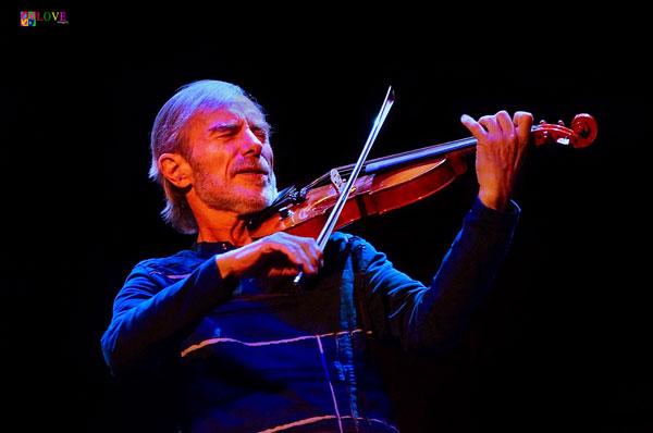 Virtuoso Jazz Violinist Jean-Luc Ponty LIVE! at the Newton Theatre