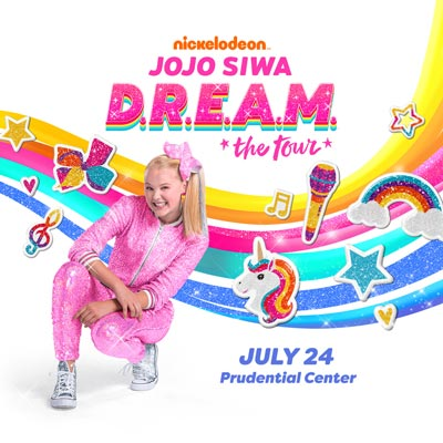 Nickelodeon's JoJo Siwa D.R.E.A.M. The Tour To Come To Prudential Center