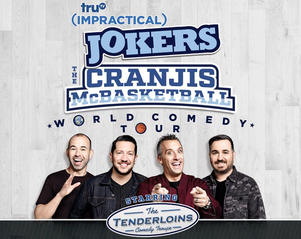 truTV's Impractical Jokers Are Headed To The Prudential Center
