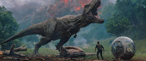 "REVIEW: ""Jurassic World:  Fallen Kingdom"""