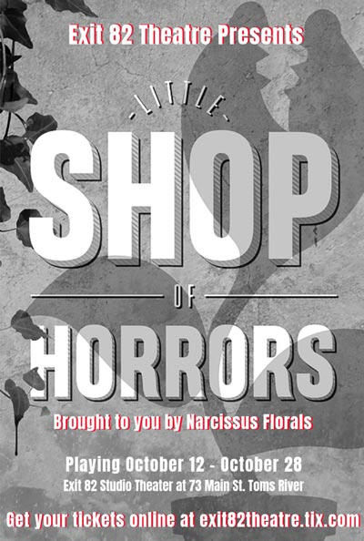"""Exit 82 Theatre Presents """"Little Shop Of Horrors"""" Reimagined With Twilight Zone Theme"""