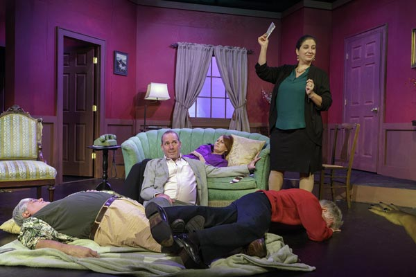 "Fool Moon Theatre Company Presents ""London Suite"" by Neil Simon"