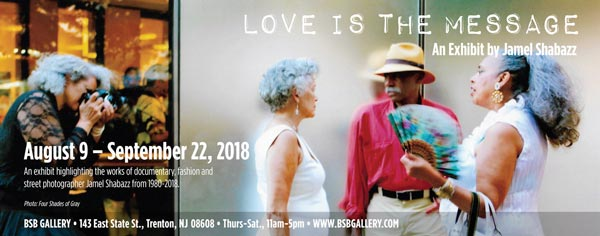 "BSB Gallery presents ""Love Is The Message"" an exhibit by Jamel Shabazz"