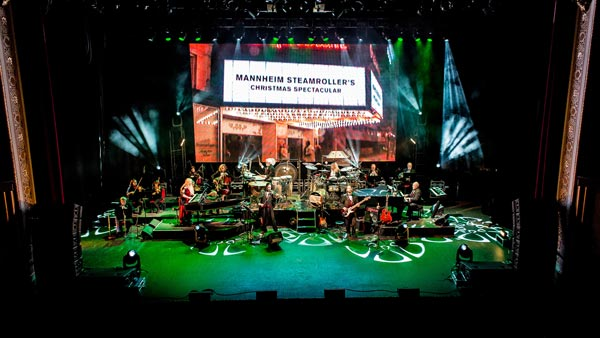 State Theatre New Jersey presents  Mannheim Steamroller Christmas by Chip Davis