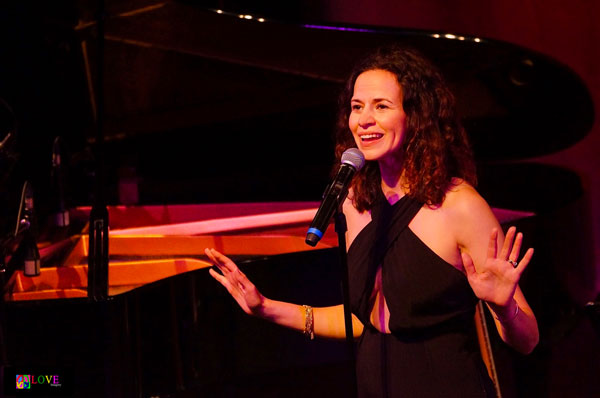 An Interview with Broadway's Mandy Gonzalez Who Performs at The Grunin Center Nov. 2