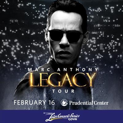 Marc Anthony To Return To The Prudential Center In February