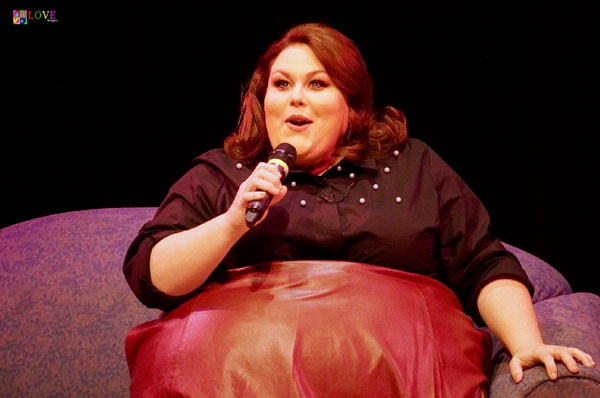 """She's an Inspiration!"" Chrissy Metz's ""This is Me"" Tour LIVE! at Toms River's Grunin Center"