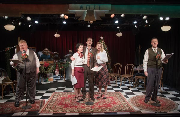 "PHOTOS from ""It's A Wonderful Life: A Live Radio Play"" at Mile Square Theatre"