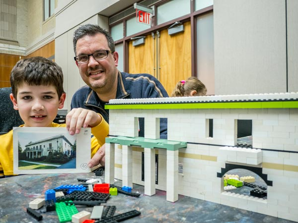 Montclair Art Museum presents Building Montclair in LEGO