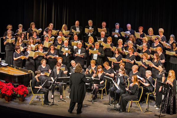 """The Morris Choral Society presents its Annual Holiday Spectacular """"Songs: Earthly & Divine"""""""