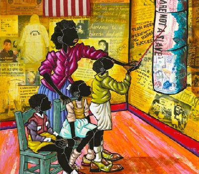 26th Annual Art in the Atriums African-American Art Exhibit, Lift Every Voice, In Morristown