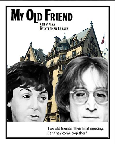 "An Interview With Stephen Larsen About ""My Old Friend"" - The Final Meeting of John Lennon and Paul McCartney"