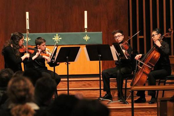New Jersey Youth Symphony Chamber Music Concert In Chatham On November 18