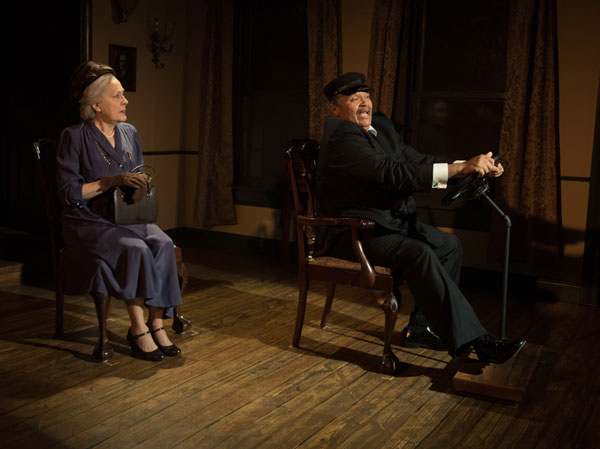 "PHOTOS from ""Driving Miss Daisy"" at Mile Square Theatre"