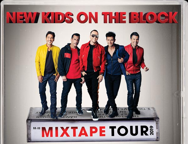 New Kids On The Block To Perform In Newark With Salt-N-Pepa, Tiffany, Debbie Gibson, and Naughty by Nature