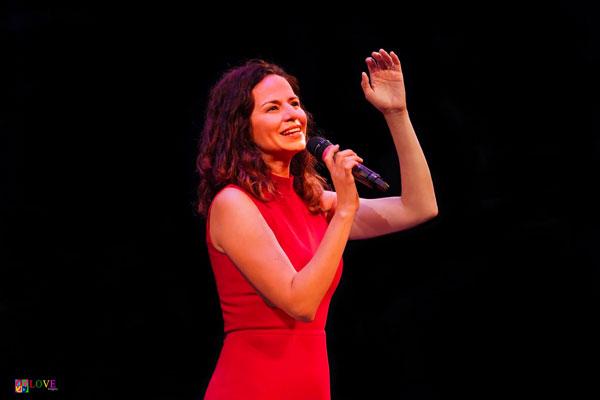 Broadway's Mandy Gonzalez LIVE! at Toms River's Grunin Center