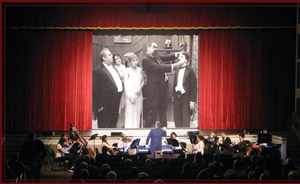​​​​​​​The Newton Theatre Presents a Silent Film Halloween With A Live Orchestra