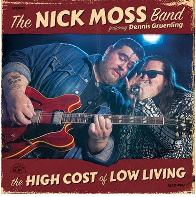 The Nick Moss Band featuring Dennis Gruenling To Celebrate Alligator Records Debut At Roxy & Dukes
