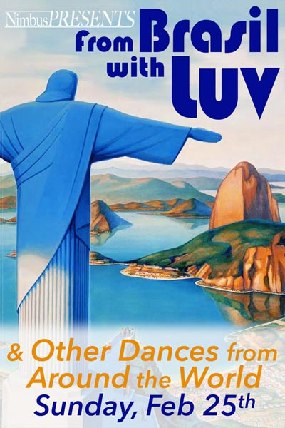 """Nimbus Presents """"From Brasil With Luv & Other Dances From Around The World"""