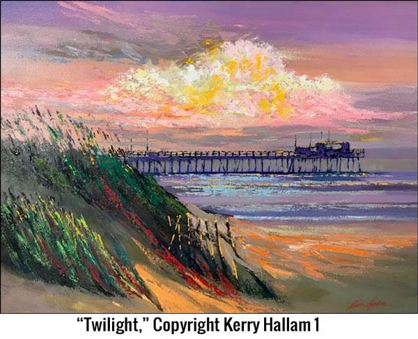 Ocean Galleries Hosts British Impressionist Kerry Hallam
