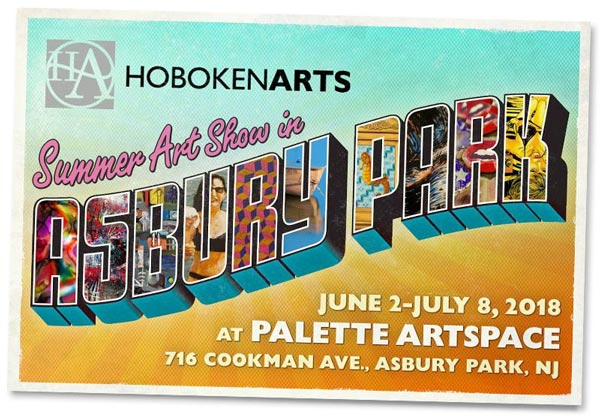 Hoboken Arts To Hold Summer Art Show At Palette Artspace In Asbury Park