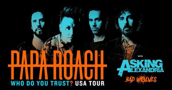 Papa Roach To Perform At Stone Pony