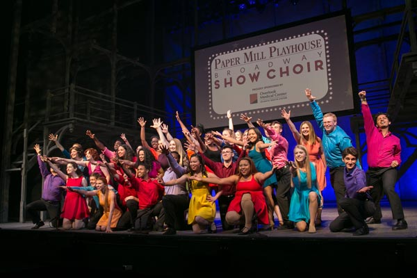The 2018 Paper Mill Playhouse Broadway Choir Tour