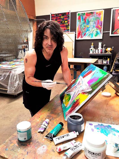 Kiss Front Man Paul Stanley Will Appear At Wentworth Gallery At Hard Rock Hotel & Casino